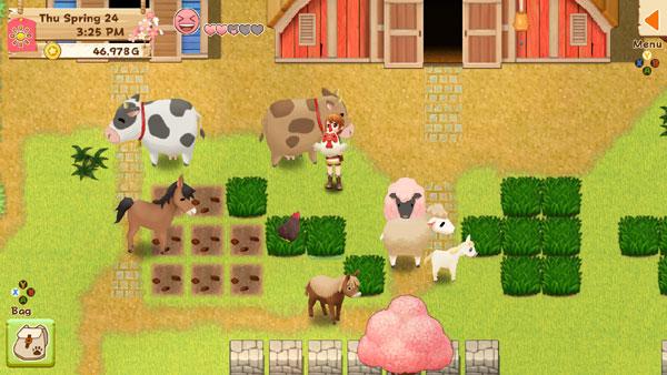 Harvest Moon: Light of Hope Walkthrough - Animal Care > Ushi